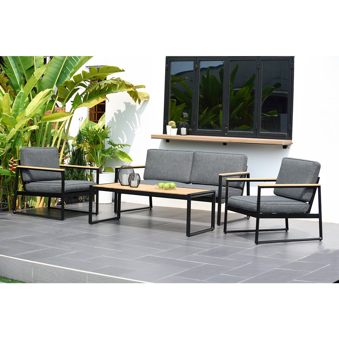 Scancom 4-tlg. Lounge-Set Porto-Rotondo 2805100060