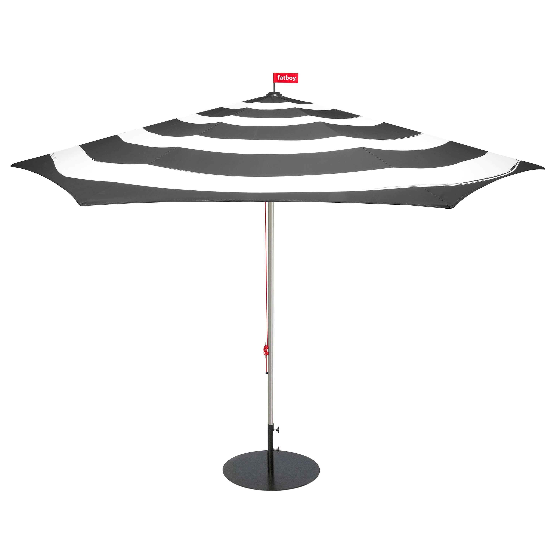 fatboy Sonnenschirm Stripesol mit Ständer Anthrazit