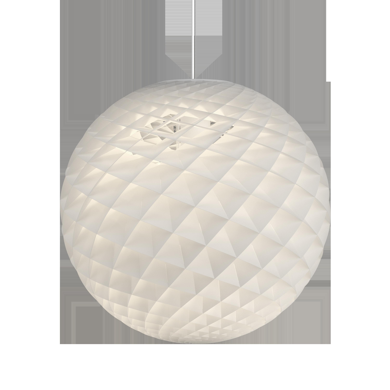 Louis Poulsen Pendelleuchte Patera Ø900 Wireless Bluetooth Weiß